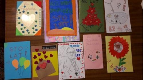Akcja Kartka urodzinowa dla Papieża Franciszka